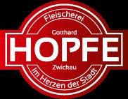Logo der Fleischerei Hopfe in Zwickau
